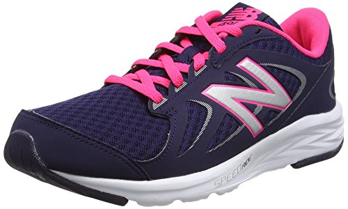 brand new d67ac ea155 New Balance Running, Scarpe Sportive Indoor Donna, Multicolore (Navy), 43 EU