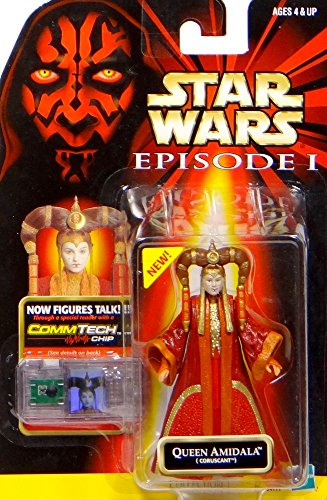 Queen Amidala Coruscant + Commtalk Chip - Star Wars Episode I