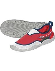 Aqua Sphere agua zapatos, sandalias de, beachwalker RS blanco/rojo, talla 36