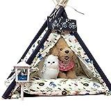 shanzhizui Small dog yurt kennel Dog tent Cat nest Dog House Washable Teddy dog