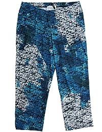 Chalou Plus Size Leggings mit Muster für Damen Legins Schwarz Blau große  Größen b2c9aa19c8