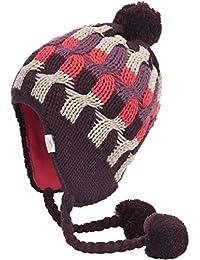 Trespass Damen Gaenor Bommelmütze mit Ohrenschutz