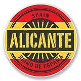 2x Alicante Spanien Vinyl Aufkleber Aufkleber Laptop Reise Gepäck Auto Ipad Schild Fun # 6734 - 15cm/150mm Wide