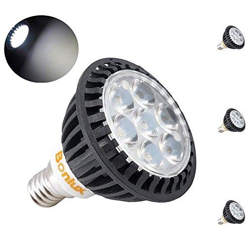 Bonlux 3-Pack 5W E14 riflettore del LED bianco freddo 6000K 45 gradi 50W sostituzione SES LED Spot Lampadina per incasso a soffitto incasso pista apparecchio di illuminazione