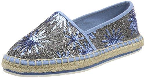 Marco Tozzi Damen 24220 Espadrilles Blau (Azure Comb)