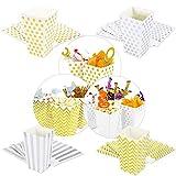 Oblique Unique® Popcorn Snack Box Schachtel Tüten Set 32 Stück ALS Tisch Dekoration für Geburtstag Party Feier Hochzeit UVM.