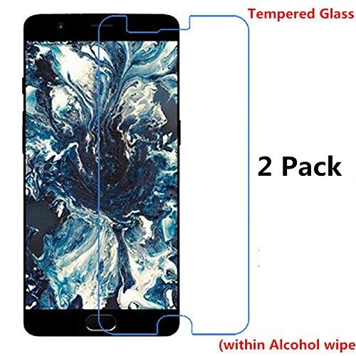 Preisvergleich Produktbild Interesting® 2 Pcs gehärtetes Glas Display Schutzfolie für OnePlus 5 A5000