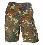 Kurze Bermuda Shorts US Army Ranger Feldhose Arbeitshose verschiedene Farben 6-11, 58, 60 (S, Flecktarn)