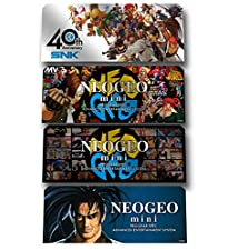 Neo Geo Mini Characters Stickers (4pcs)