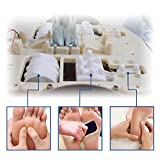 QUINEAR Elektrische Fußmassagegeräte Shiatsu Luftdruck Fussmassagegerät Mit 6 Luftdruckstufen Und 2 Knetgeschwindigkeiten Und 2 Temperatur Für Unterschiedliche Personen Test