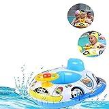 LianShi Aufblasbarer Auto-Schwimmen-Ring für Kinder Scherzt Baby-Schwimmer-Trainer-Sitz
