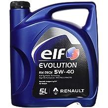 Elf 201030 Aceite Evolution RN-Tech 5W40