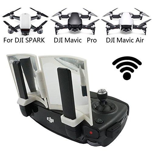 Aluminium Fernbedienung Antenne Signal Booster Range Extender Antenne Reichweite Signalverlängerung Parabolantenne für DJI MAVIC PRO / DJI SPARK / DJI Mavic Air Drohne (Gopro Wifi Backpack)