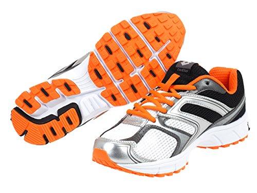 Lotto Zenith VII, Scarpe da Corsa Uomo Arancione
