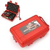 Beautyrain Autoayuda Acampar al aire libre Senderismo Deportes Viajar llamada de socorro Supervivencia Emergencia Herramienta Box Kit Gear Set Equipment