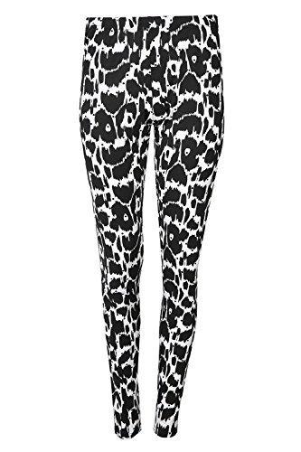 Be Jealous - Legging - Sans Manche - Femme * taille unique Motif léopard Noir