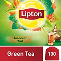 Lipton Green Tea Moroccan Mint, 100 Teabags