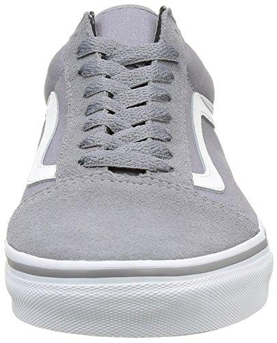 Vans Old Skool Unisex - Erwachsene Old Skool Grau (Suede/Canvas) frost Gray/true white)