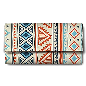 ShopMantra Vector Tribal Ethnic Pattern Ladies Wallet Best Online Shopping Store