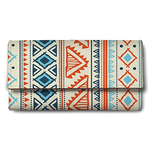 Buy ShopMantra Vector Tribal Ethnic Pattern Ladies Wallet online in India at discounted price