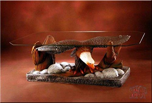 tisch Adler Wohnzimmertisch Tisch Glastisch ArtDeco Luxusmöbel ()