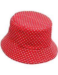 Vococal - Casquillo del Sombrero del Cubo de Sol Plegable de Lona para Actividades al Aire Libre Bebé Niño,2#