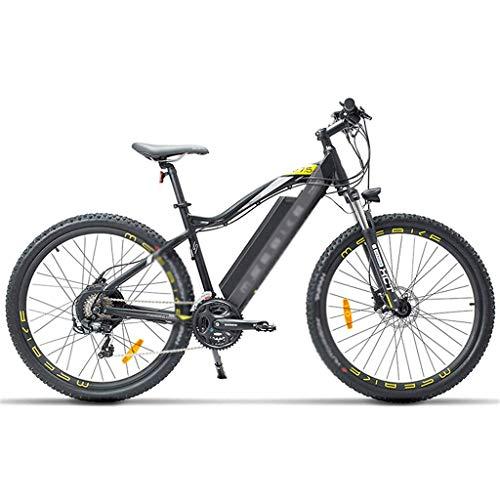AA-folding electric bicycle ZDDOZXC 27,5 Pollici E Bike, 400W 48V 13Ah Mountain Bike, 5 Livelli di Assistenza al Pedale, Forcella Ammortizzata, Freni a Disco d'olio, Potente Bicicletta elett