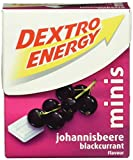 Dextro Energy Minis Johannisbeere / Mini Traubenzucker-Täfelchen mit schnell verfügbarer Glucose für unterwegs / 6 Packungen (6 x 50g)