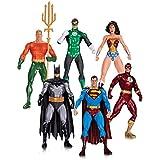 Liga de la Justicia Alex Ross Pack 6 minifiguras: Superman, Batman, la Mujer Maravilla, Linterna Verde, Aquaman y el flash.