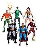 DC Comics Alex ROSS Justice League Action Figure, confezione da 6, a colori