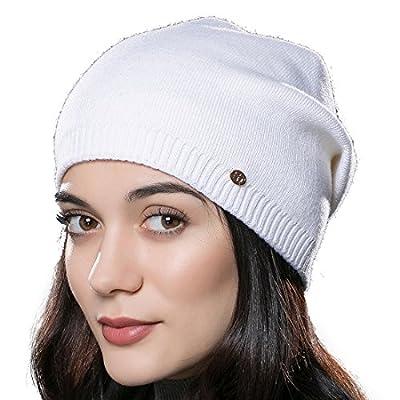 URSFUR Unisex Weiche Wolle Mütze Winter Mütze Strickmütze Kappen Mehrfarbig