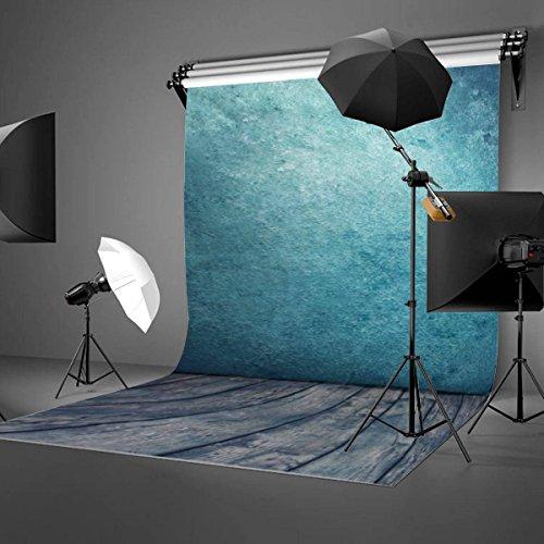 MOHOO Vendita di Natale 5x7ft sfondo foto/Seta fotografia sfondo Bella blu oceano fotografia di stoffa per Famiglia, vacanze, bambini