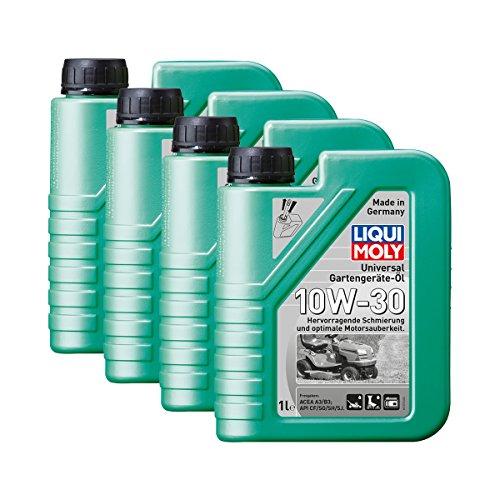 Preisvergleich Produktbild 4x LIQUI MOLY 1273 Universal Gartengeräte-Öl 10W-30 4-Takt 1L