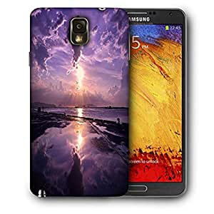 Snoogg Sunrise Printed Protective Phone Back Case Cover For Samsung Galaxy NOTE 3 / Note III