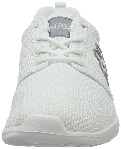 Kappa Unisex-Erwachsene Speed II Low-Top Sneaker Weiß (1014 White/L´Grey)