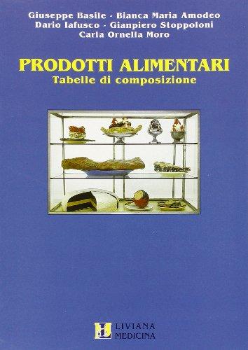 Prodotti alimentari. Tabelle di composizione