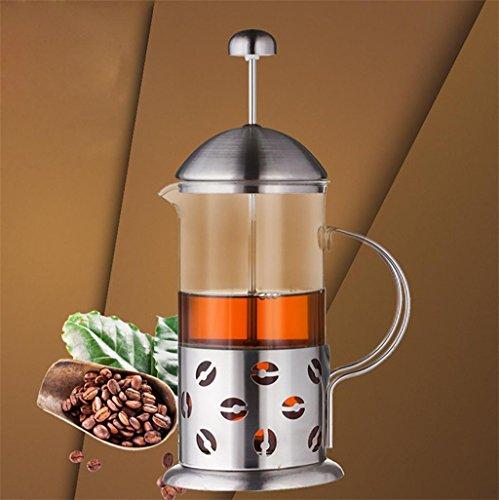 XL-4-boîtier en acier inoxydable de 350ml filtre à café Cafetière-fast cup