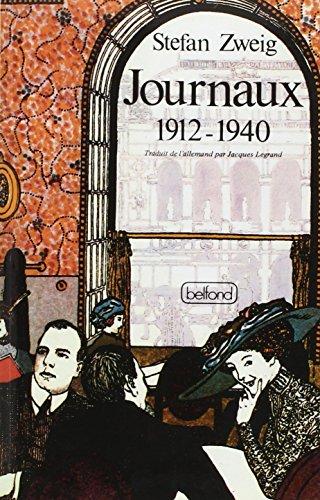Journaux, 1912-1940
