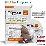 Tippen360° 10-Finger Schreibkurs und Tipptraining. Lernen Sie jetzt das anerkannte 10-Finger System in nur 4 bis 6 Stunden!