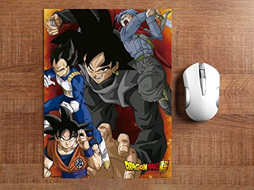 Alfombrilla Ratón Ordenador Dragon Ball Super Conjunto