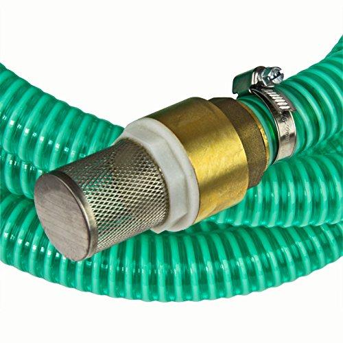 Sauggarnitur Saugschlauchgarnitur 1′ 7 m NW25 mit GK Kupplung Klauenkupplung - 4