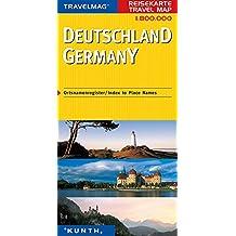Carte de voyage Allemagne 1 : 800 000