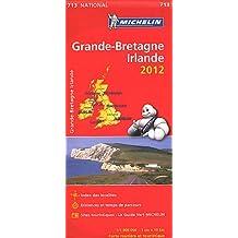Carte NATIONAL Grande Bretagne, Irlande 2012