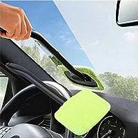 Erduo Limpiador fácil de plástico portátil Limpiador fácil de Microfibra Ventana Limpia en su Coche o Lavable en casa Fácil Brillo fácil a Mano