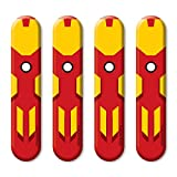 #9: Strong Iron Man Car Styling Door Edge Guard Accessories by Autographix