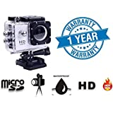 Twogood Bm400 Action Camera 12Mp 1080P H.264 1.5 Inch 140Ã'Â¡ Wide Angle Lens Waterproof Diving(Upto 30M) Sport Camcorder