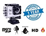 #9: Twogood BM400 Action Camera 12Mp 1080p Wide Angle Lens Waterproof Sports Camera (1 Year Warranty, Assorted Colour)
