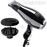 ELCHIM 3900 PHON HEALTHY IONIC BLACK e SILVER con DIFFUSORE COCOON