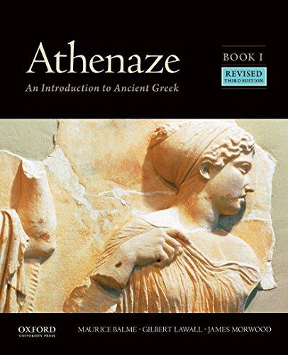 Athenaze, Book I: An Introduction to Ancient Greek por Maurice Balme