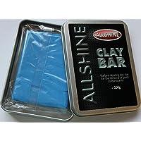 All Shine - Barra de arcilla de grano fino de 200g con caja de transporte